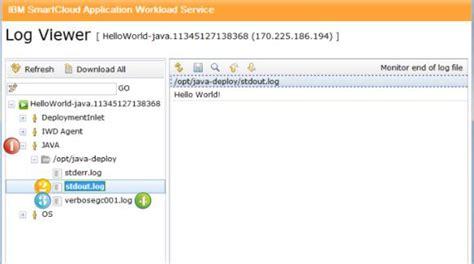 pattern java util logging 利用 ibm application pattern for java 部署到云中