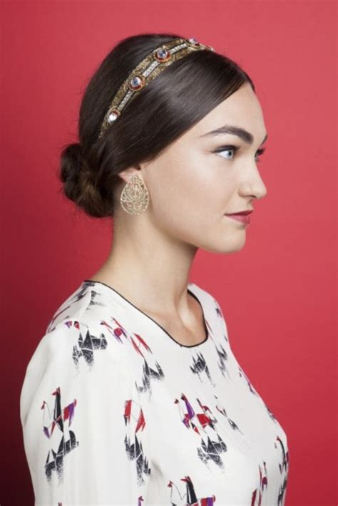 diy hairstyles with headband gorgeous diy hairstyle with dg inspired headband 1
