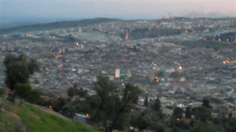 Moraccan Len by Muslim Call To Prayer Sunset Carries Out Across Fez