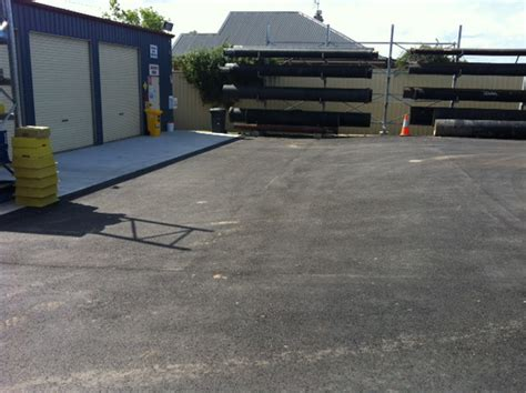 Heavy Duty Asphalt Pavement Section by Water Tarro