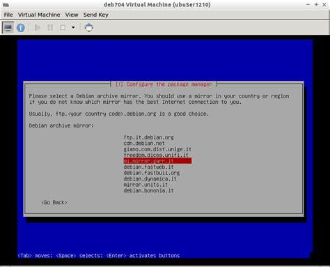 Debian 7 L by Kvm Installare Debian 7 4 Vm Wheezy Via Virt Manager