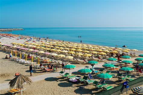 porto san giorgio spiaggia spiaggia marina palmense marche spiagge italiane su