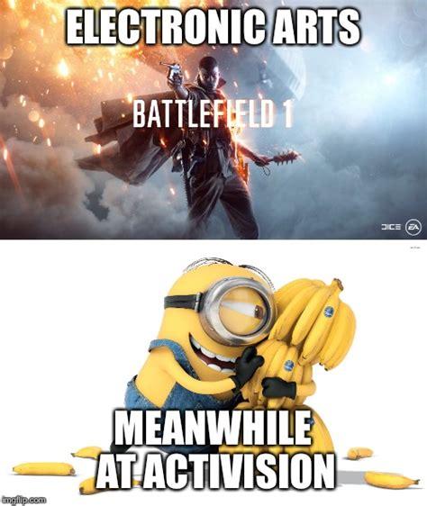Meme Warfare - ea vs activision imgflip