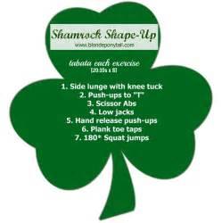 shamrock shape up workout