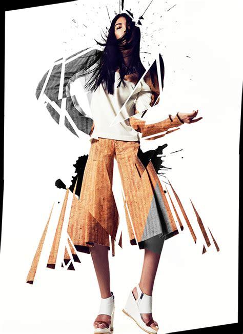 fashion illustration magazine for dash magazine on behance