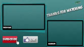 Outro Template by Outro Template Size Images