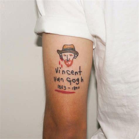 vincent van gogh tattoo vincent gogh