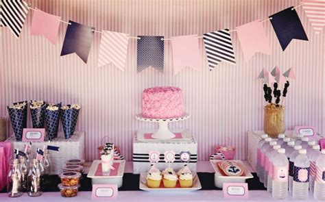 themes for newborn girl 1st birthday ideas for baby girl party themes inspiration