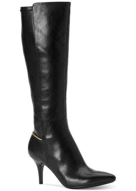 wide dress boots for calvin klein calvin klein s rikita wide calf