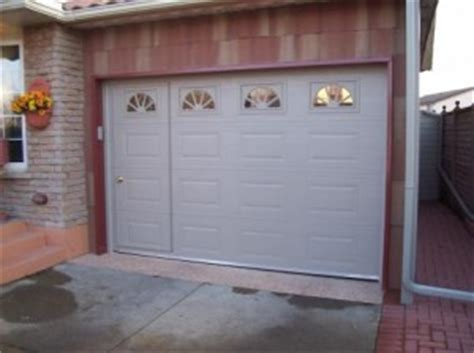 Walk Thru Garage Doors Neiltortorella Com Walk Thru Garage Door