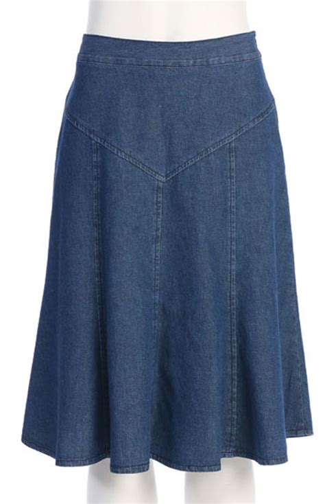 denim skirt 7 days to ship western wear by n