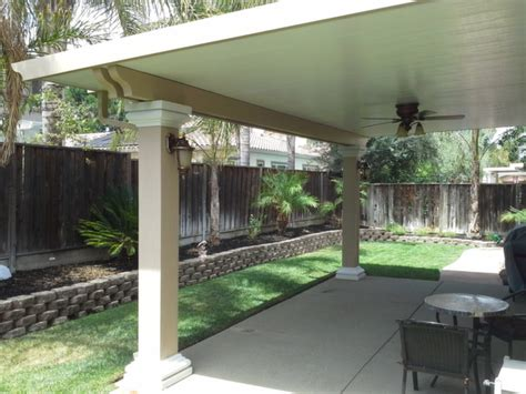 Patio Cover Columns   Bright Ideas Antioch, CA