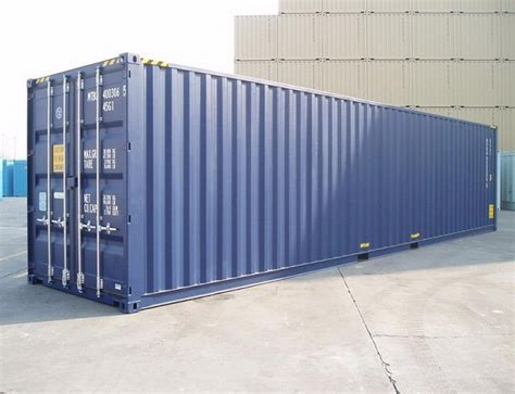 foot pallet wide high cube shipping containers