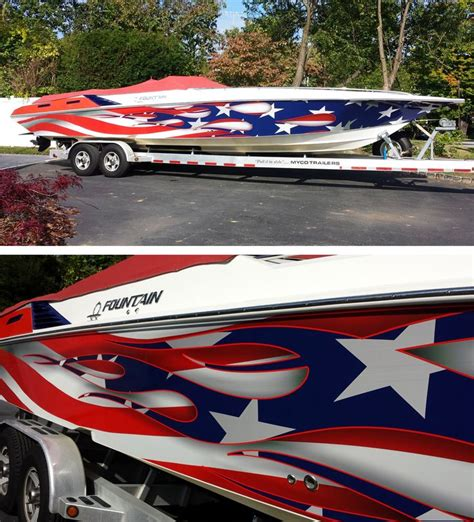 vinyl boat wrap michigan 74 best images about boat wraps on pinterest sign design