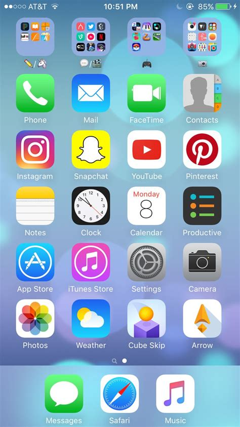 33 best iphone home screen layout images on homescreen iphone layout and iphone