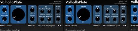 valhalla room reverb review valhallaplate review audiofanzine