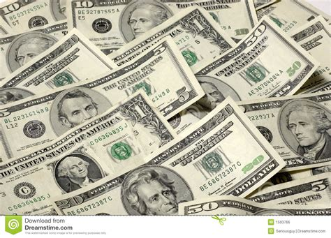 How To Make Currency Paper - array of usa paper money stock photo image of pile