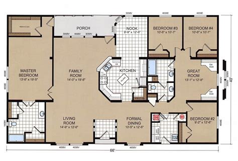 elegant champion mobile home floor plans  home plans design