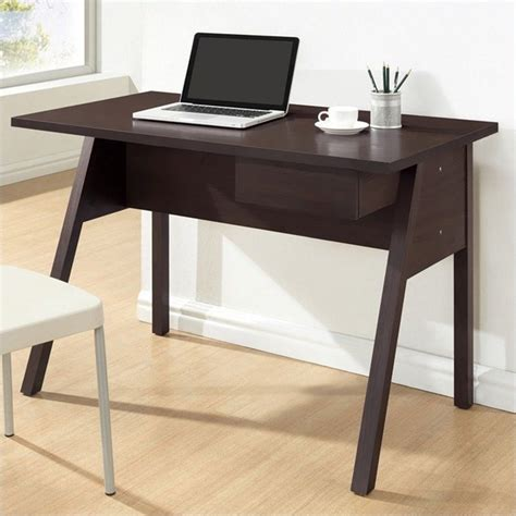 Small Brown Desk Baxton Studio Frommes Desk In Brown 504153