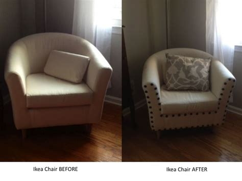 Furniture Nails Upholstery by Add Upholstery Nails To An Inexpensive Chair To Add