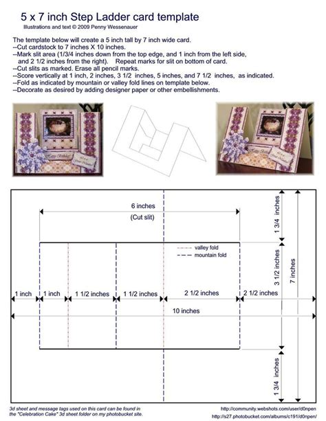 a5 tent card template 517 best cards folding techniques images on