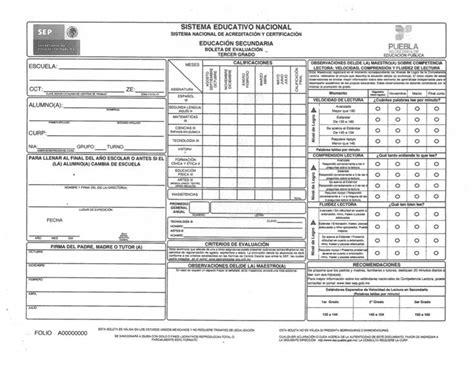 boleta de prepa m 225 s de 25 ideas incre 237 bles sobre boleta de calificaciones