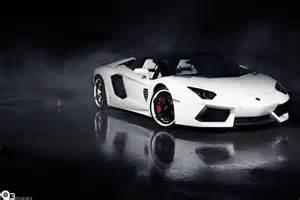Lamborghini Wheel Wallpaper Lamborghini Aventador Roadster White Giovanna Wheels Hd