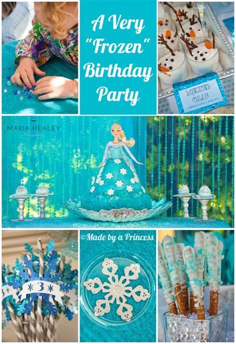 frozen party ideas dessert crafts ideas     perfect disney frozen inspired