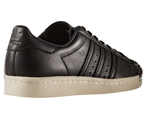 Adidas Superstar 80s 3d Metal Toe Womens Black Bb2033 adidas originals s superstar 80s 3d metal toe shoe black white ebay