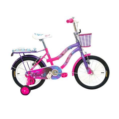 jual wimcycle sepeda anak pink 16 inch harga kualitas terjamin blibli