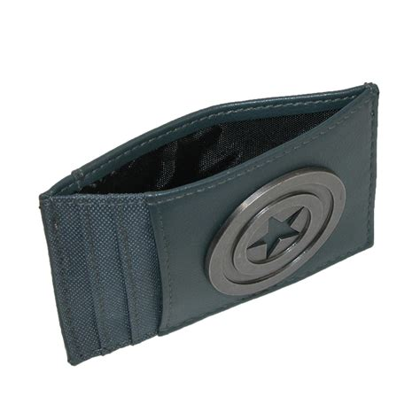 Paket Wallet mens marvel captain america front pocket wallet by bioworld money front pocket s
