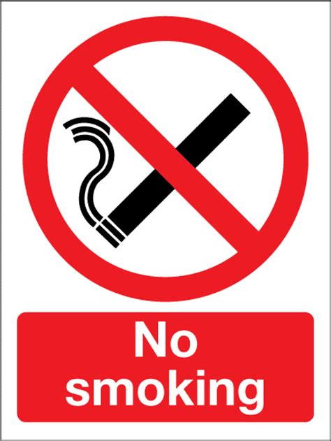 no smoking sign use no smoking sign first safety signs