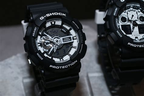 G Shock Series Black live photos g shock black white 2015 series
