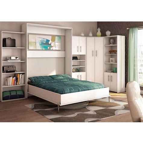 lit escamotable blanc chaises tabourets lits