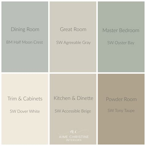 picking a palette for your whole house katie rusch whole house color palette home colors pinterest