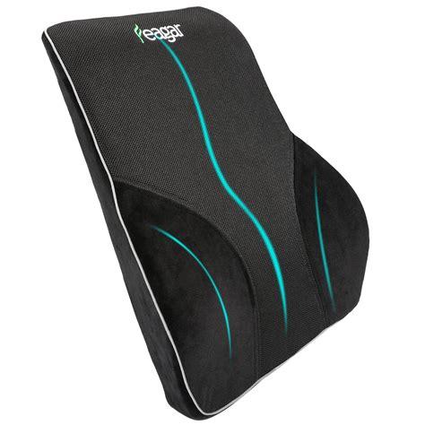 support lumbar cushion office chair car seat memory