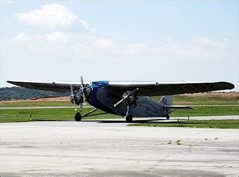 New Garden Flying Field by Yorkspast Coming Attractions Ford Tri Motor Airplane