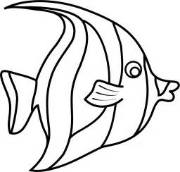 Template Fish by Free Moorish Idol Fish Template For Pdf