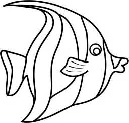 Free moorish idol fish template pdf 1 page s