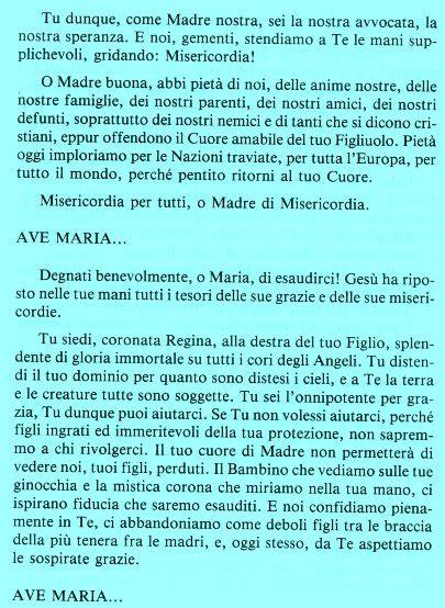 supplica alla madonna di pompei testo supplica alla madonna di pompei su vita verit 224 via