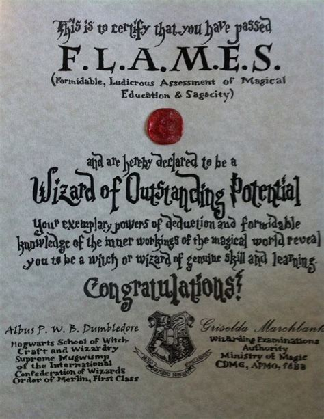 harry potter certificate template one of our hogwarts quot graduation quot certificates from the