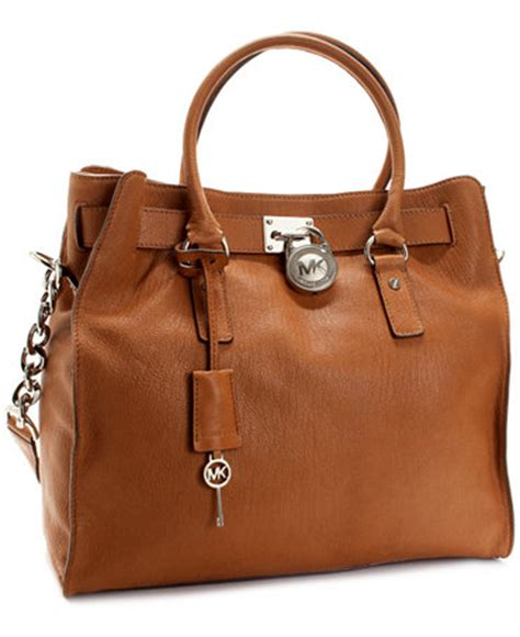 michael michael kors large hamilton chain tote with silver