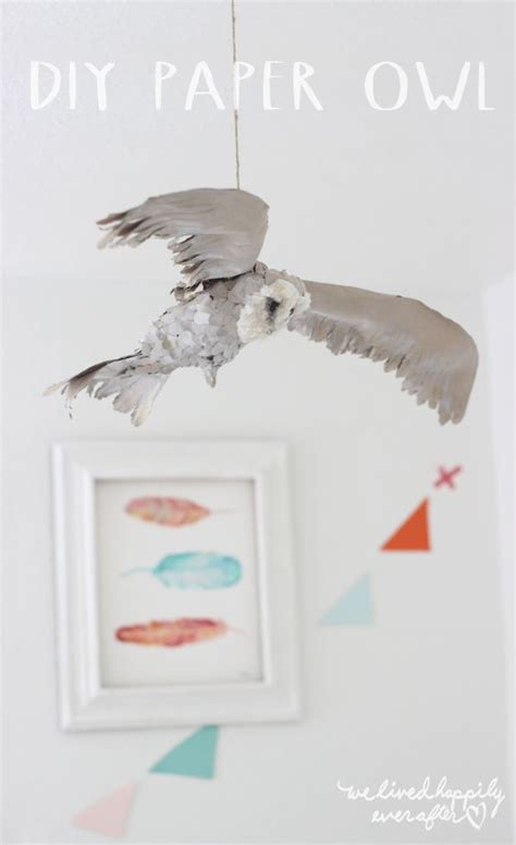 Snowy Owl Hedwig Papercraft By - 25 best ideas about paper owls on met