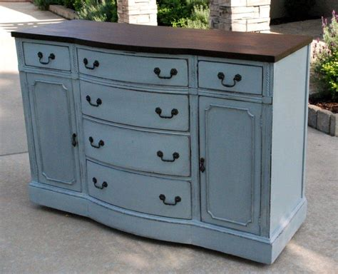blue painted furniture i kind of like this blue gray distressed style for