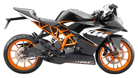 Ktm 125 Sports Bike Ktm Rc 125 Motorcycle Bike Png Image Pngpix