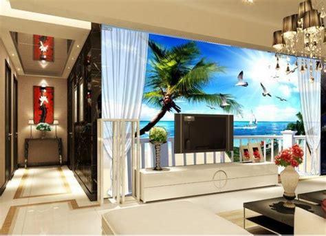 creative  living room wallpaper ideas