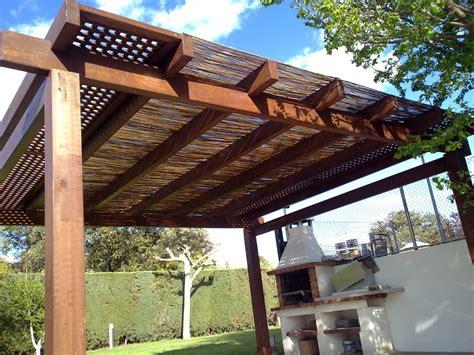 porches exteriores pergolas pergojardin decoracion exterior de madera