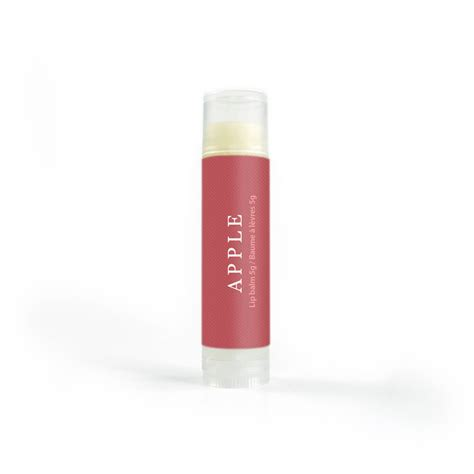 A Lip Balm Apple 3gr lush and lather apple lip balm lush and lather