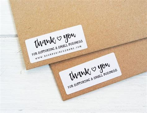 Business Sticker Labels best 25 thank you stickers ideas on thank you