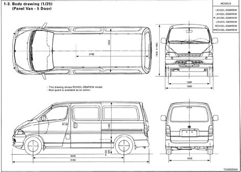 Toyota Hiace Size Cargo Vans Sk 229 Pbilsbloggen Toyota Hiace Dimensions